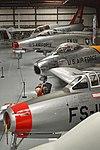 F-84, F-86, F-100 & F-106. Yanks Air Museum, 28-2-2016 (26053167416).jpg