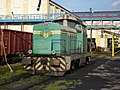 FAUR LDH 45 012 in sugar factory Otmuchow.jpg