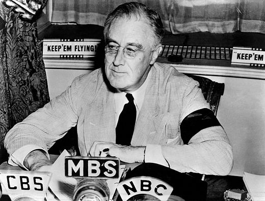 the first fireside chat of franklin delano roosevelt