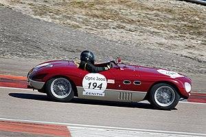 Ferrari Monza - Image: FERRARI 625 TF Circuit de Dijon Prenois 02
