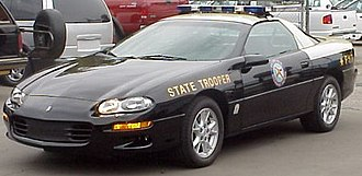 Florida Highway Patrol - An FHP B4C Camaro.