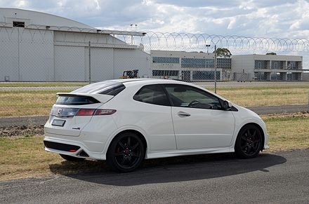 Honda Civic Type R (FN2) Rear/side