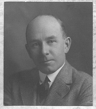 Frank Porter Wood - Frank Porter Wood in 1924.