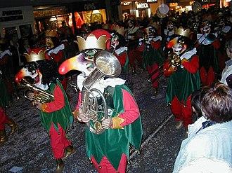 Carnival of Basel - A Gugge (brass band)