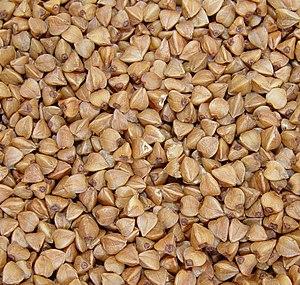 Buckwheat whisky - Buckwheat grains