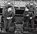 Faisal II of Iraq and Hussein of Jordan.jpg
