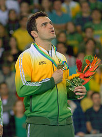 Falcão during the 2007 Pan American Games