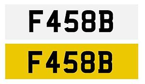 Vehicle registration plates of British overseas territories - Falkland Islands vehicle registration plate front and rear
