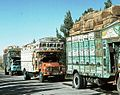 "Famous ""jingly trucks"" resting on central route (1977) - panoramio.jpg"