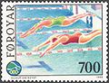 Faroe stamp 183 swimming competition.jpg