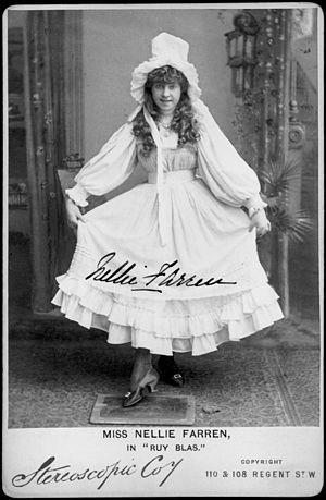 Nellie Farren - Farren in Ruy Blas