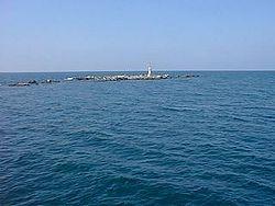 Fatsa Adası'ndan bir görünüm