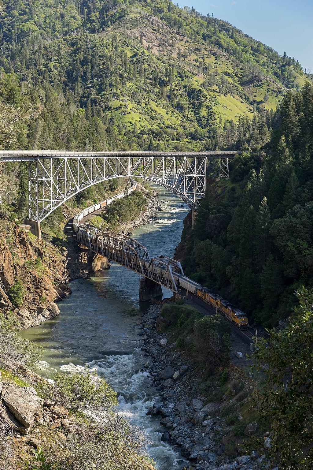 Feather River Route bridges