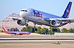 """FedEx Express Airbus A300F4-605R N673FE (cn 780) """"Mark"""" (7316513140).jpg"""