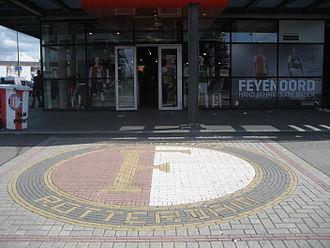 Feyenoord - Logo near De Kuip