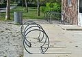 Felmayergarten in Schwechat - bicycle racks.jpg