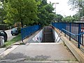 Felsőgöd train stop, underpass, Vasút Street side, 2020 Göd.jpg