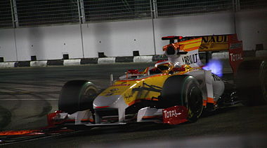 Fernando Alonso 2009 Singapore 2