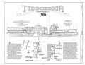 Ferry TICONDEROGA, Route 7, Shelburne, Chittenden County, VT HAER VT,4-SHEL,1- (sheet 1 of 4).png