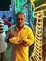 Festival lights. Aadi festival free food.jpg