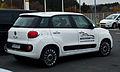 Fiat 500L 1.4 16V Easy – Heckansicht, 17. November 2012, Heiligenhaus.jpg