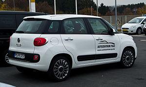 Fiat 500L - 500L, European model