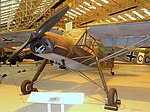 Fieseler Fi 156 Storch, Royal Air Force Museum, Cosford. (34792775741).jpg