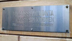 Finnish Financial Supervisory Authority - Image: Finanssivalvonta