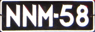 Überblick über Kfz-Kennzeichen in Finnland