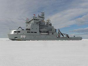 Finnish multipurpose vessel Louhi (1999)