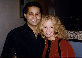 """Firdous Bamji - Image: Firdous Bamji & Hayley Mills opening night """"Indian Ink"""" San Francisco"""