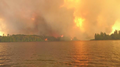 Fire approaching south shore of Lake 3.png