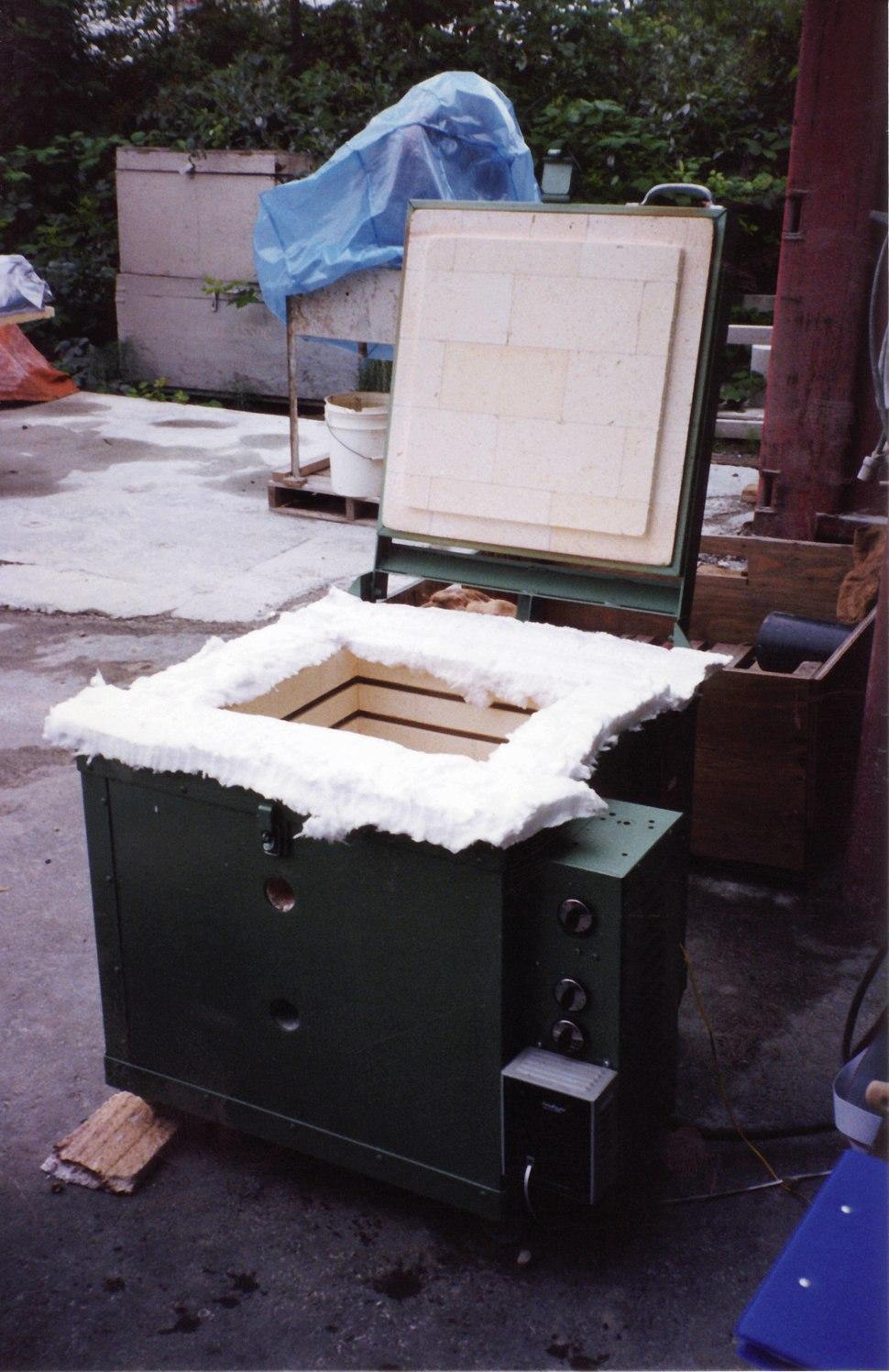 Firebrick electric furnace ceramic fibre gasket