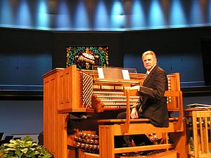 Rodgers Instruments - Four manual Rodgers organ installed in a church