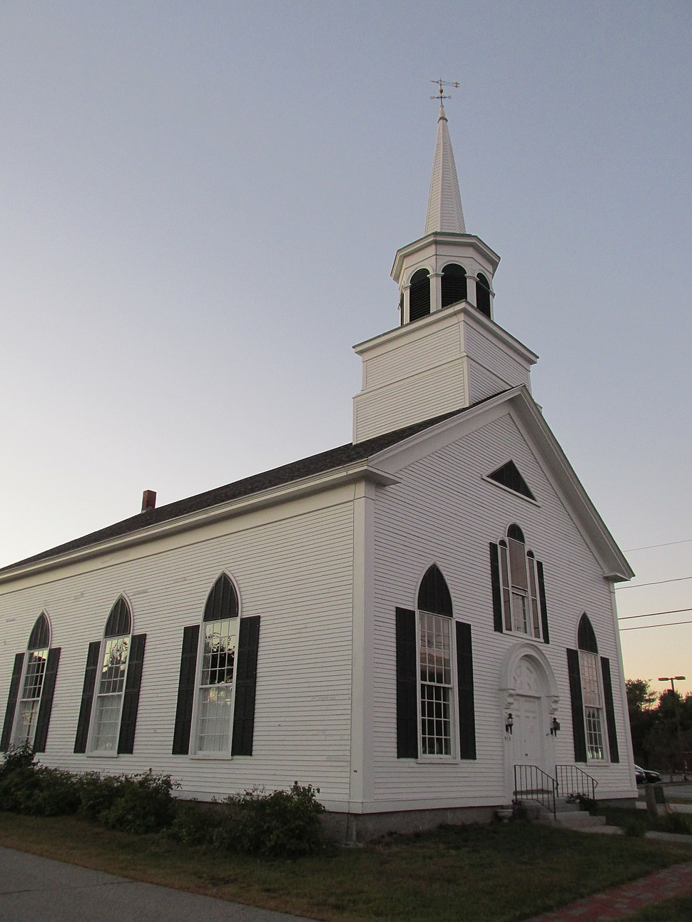 First Congregational Church, Wells ME