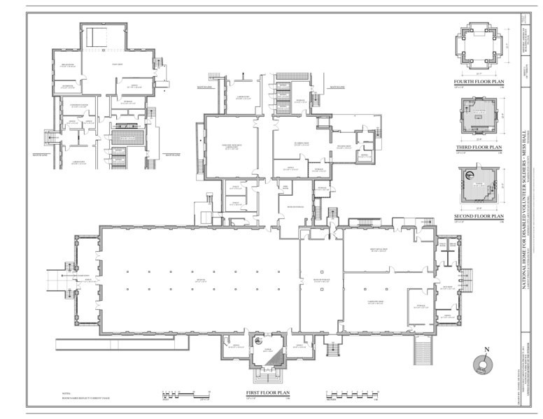 File First Floor Plan National Home For Disabled
