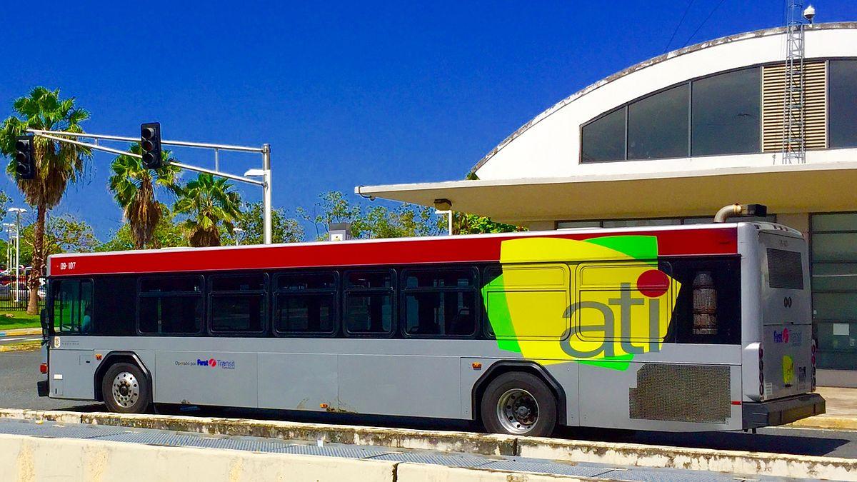 En los autobuses de circuito interior df - 1 3