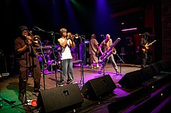 Fishbone performing live in 2007
