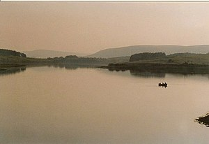 Fishermen at dusk on Stocks Reservoir - geograph.org.uk - 278275.jpg