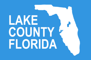 Eustis, Florida - Image: Flag of Lake County, Florida