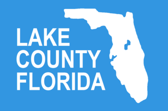 Eustis, Florida - Image: Flag of Lake County, Florida
