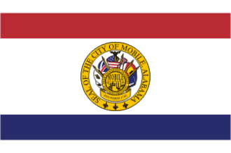 Flag of Mobile, Alabama - The flag of Mobile, Alabama
