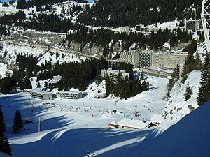photo de la station de ski Flaine, prise le 11...