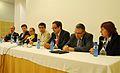 Flickr - Convergència Democràtica de Catalunya - Miquel Forns, Gerard Figueras, Carles Campuzano, Marc Castells, Pere Macias, Pere Regull i Rosa Huguet a Igualada.jpg