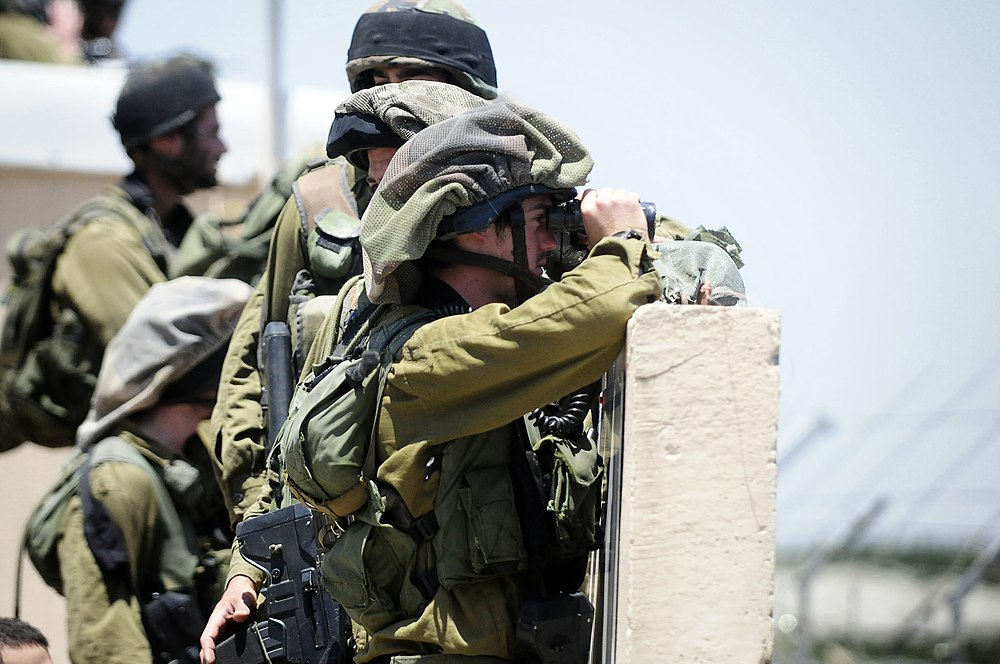 "Flickr - IDF Soldiers Near Israel-Syria Border Following ""Naksa Day"" demonstrations"