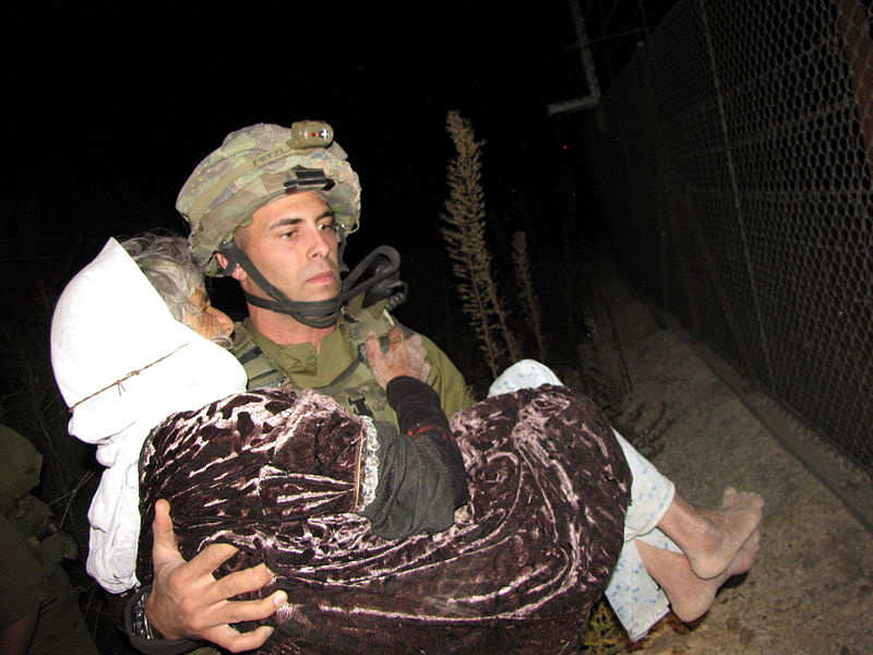File:Flickr - Israel Defense Forces - IDF Soldiers Rescue Lebanese Woman.jpg