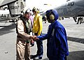 Flickr - Official U.S. Navy Imagery - The commander of Naval Air Forces Atlantic greets Sailors aboard USS Enterprise..jpg