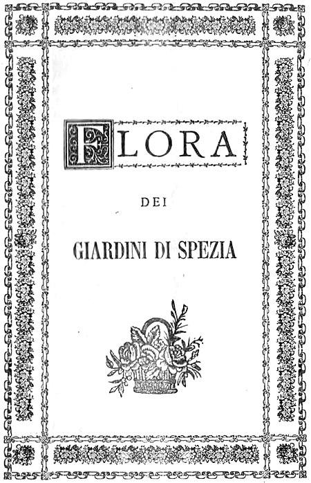 Flora Dei Giardini Pubblici E Viali Di Spezia Wikisource