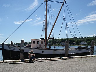 Florence (dragger) - Image: Florence Mystic Seaport