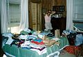 Florida - St. Augustine Beach - Beach House - Me trying to get ready to pack for our PCS back to Germany - July 1985.jpg